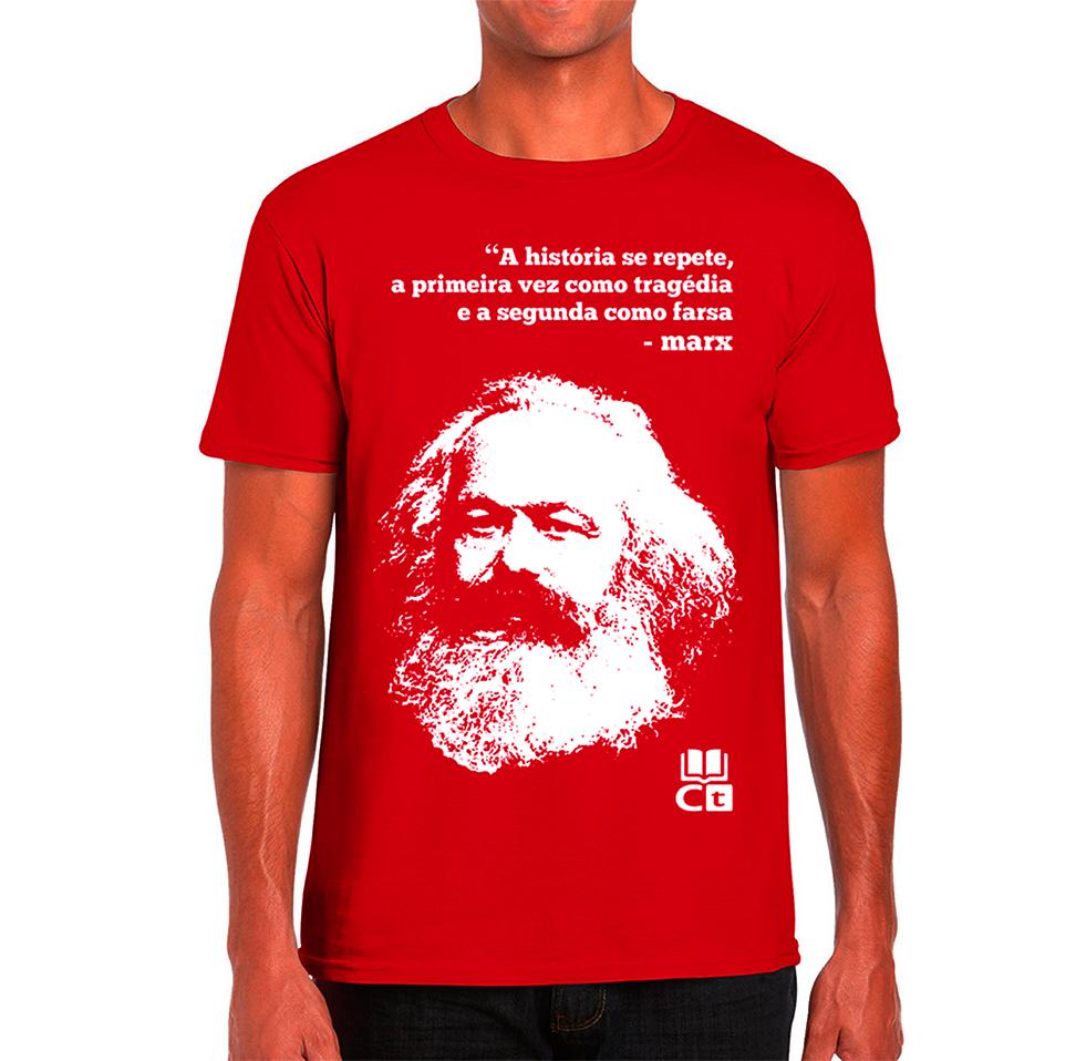 Camisa Vermelha de Marx
