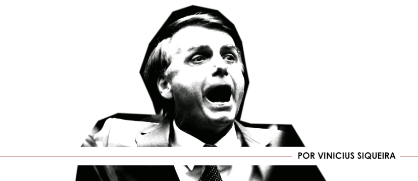 Bolsonaro em pânico.