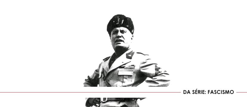Capa - Conceito Geral de Fascismo